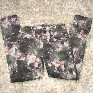 Sz 8 R Justice premium jeans simply low jegging